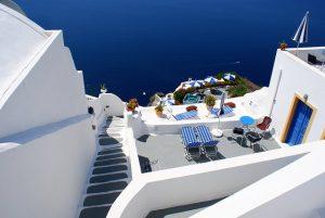 Caldera View Santorini Greece