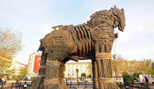 Troia Turkey